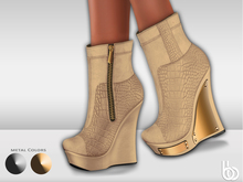 Bens Boutique - Lexi Wedges Cream