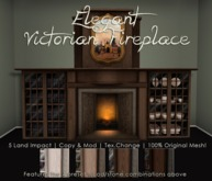 [DDD] Elegant Victorian Fireplace