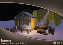 AXL pro box - Karma Lake Cuddle Beach Hut