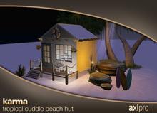 AXL pro box - Karma Tropical Cuddle Beach Hut