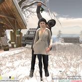 Diesel Works - Mistletoe Embrace (Pose with Prop)