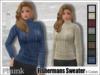 [Phunk] Mesh Women's Fishermans Sweater (8 Colors)