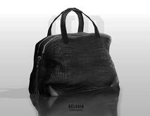 Belvoir // WALLIE CROC EMBOSSED DUFFLE BAG