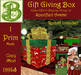 1 Prtm Gift Giver Box  with Recipient Destinations & 1 Prim Rudolf with Hold Animaition