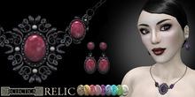 Eclectica 'Relic' Jewellery-Black