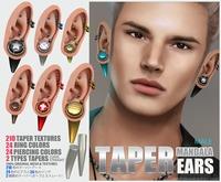 (MALE)_[MANDALA]TAPER_EARS(wear Me!)