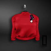 ::LC:: Aaliyah Cotton Sweatshirt [Red]