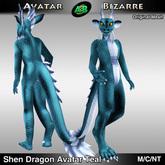 AB Shen Dragon Avatar Teal