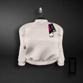 ::LC:: Aaliyah Cotton Sweatshirt [White]