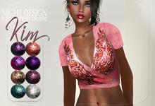 "[demo] night's full perm rigged mesh blouse ""KiM"""