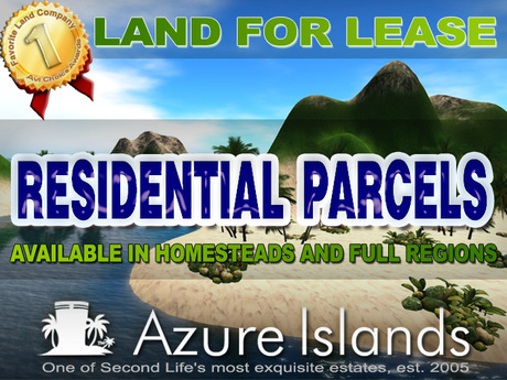 -: Residential Parcels Azure Islands :-