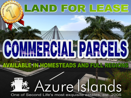 COMMERCIAL PARCELS - AZURE ISLANDS