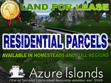 Azure Islands Residential Parcels