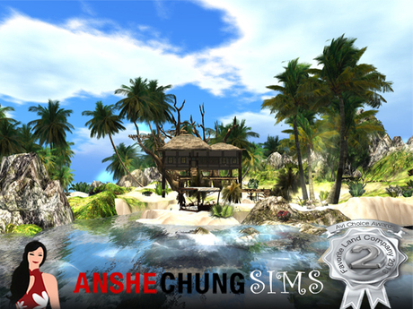 Paradise Beach Parcel Sim Design