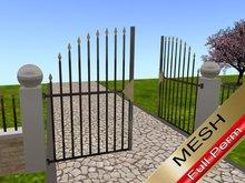Gate Mesh - full perm - builder edition