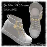Get LIke Me Sneakers White Mesh