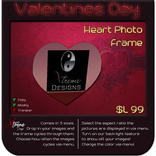 ♥♥♥ Heart Photo Frames ♥♥♥ Valentine's Day