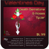 ♥♥♥ Death Rose Tipjar ♥♥♥ Valentine's Day