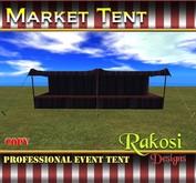 Big Top Market Tent - Black and Purple - COPY - Market Tents for Vendor Booths for Carnivals Outdoor Sales Events