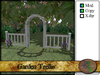 Garden Trellis and Fence