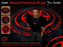 Gaagii- Blood Pentacle Rugs+Necklace (BOXED) V3