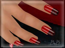 ::BnB:: Nailz ~Amour RED~ prim nails for Valentines PROMO