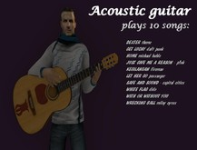 Mesh Guitar with 10 full songs NEW 2014