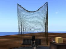Hanging Fishing Net