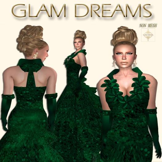 * 50% OFF !!! -Glam Dreams Ectasis (Emerald) *