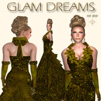 * 50% OFF !!! -Glam Dreams Ectasis (Gold) *