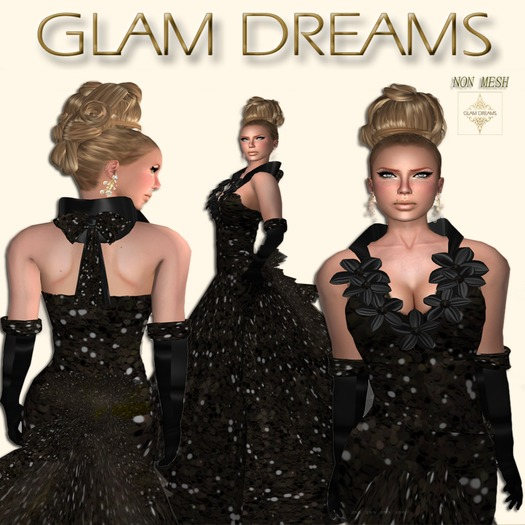 * 50% OFF !!! -Glam Dreams Ectasis (Onyx) *