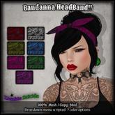 :Z.S:  Bandanna Headband