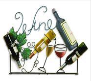 Wall Wine Rack - WIRE CUTOUT