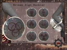 D-T: Broken Sign Buckler