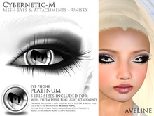 [AC] Cybernetic-M  - Eye Phone - Platinum (BOXED)