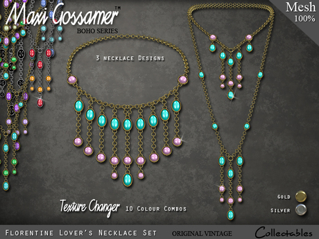 Necklace - Florentine Lovers