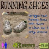 Running Shoes Green Yellow