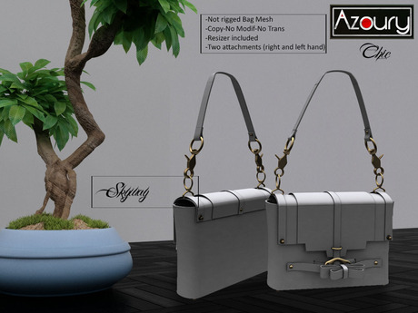 AZOURY - Chic Bag (Skyway)