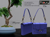 AZOURY - Chic Bag (Wedgewood)