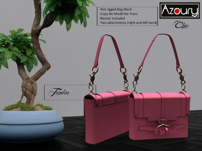 AZOURY - Chic Bag (Tender)