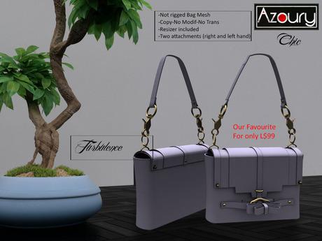 AZOURY - Chic Bag (Turbulence)
