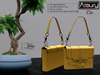 AZOURY - Chic Bag (Yellow)