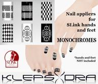 Klepsydra - Nail Appliers - Monochromes