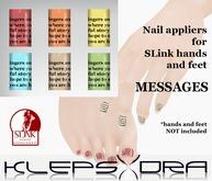 Klepsydra - Nail Appliers - Messages