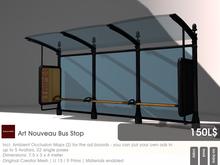 22769 ~ [bauwerk] Art Nouveau Bus Stop
