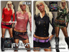 *DAFNIS EVELYN  MESH OUTFIT WOMAN