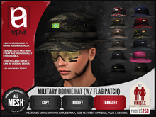 (epia) - Military Boonie Hat