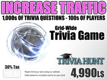 Trivia Hunt Ball - Increase Land Traffic (30% tax)