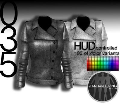 baii maii 035 woman's metallic/jacket/mesh w/color HUD
