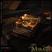 =Mirage= Typewriter - Copper & Brass